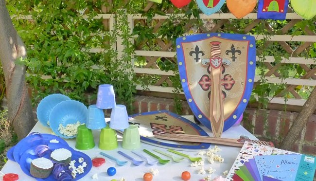 Decoración de mesa cumpleaños para niños