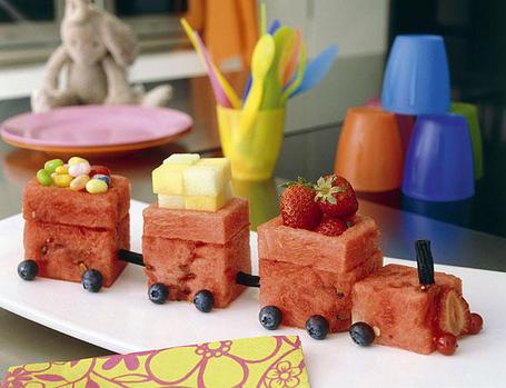 Recetas divertidas con frutas para niños
