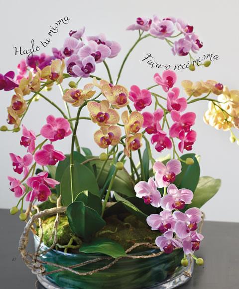 Centro de Mesas con Flores