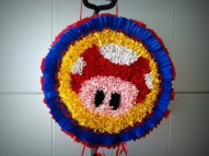 piñata Mario Bros www.rocioamoros.wordpress.com