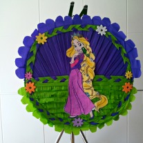 Piñata Rapunzel -Enredados