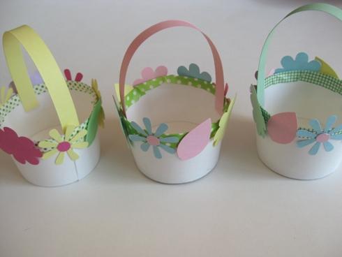 Cestas y decoración para Pascua