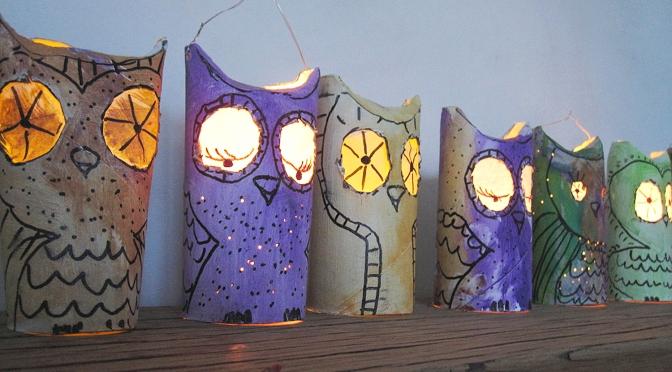 Farolillos – farolitos – lanterns