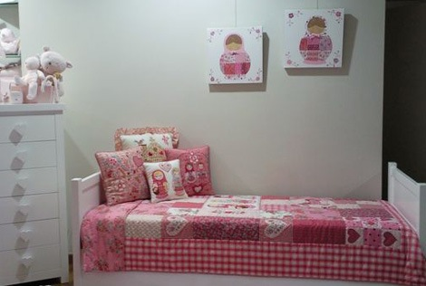 Decoración sencilla Habitación niñas
