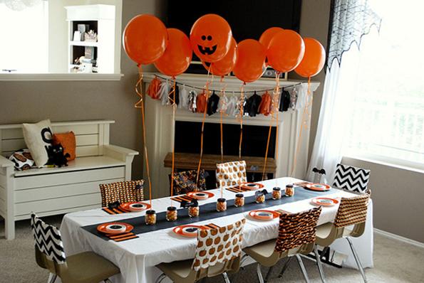 Decoracin de mesas para Halloween La Cajita Azul de Roco
