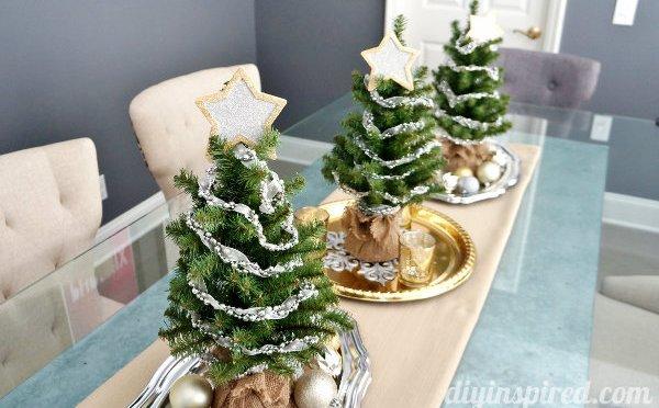 Cómo hacer centro de mesa navideño